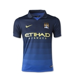 Manchester City 14/15 Youth Away Soccer Jersey