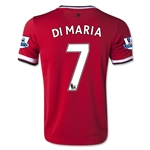 Manchester United 14/15 DI MARIA Youth Home Soccer Jersey