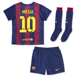 Barcelona 14/15 MESSI Kids Home Soccer Kit