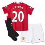 Manchester United 14/15 V. PERSIE Kids Home Kit