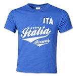 Italy Youth T-Shirt (Royal)