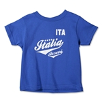 Italy Toddler T-Shirt (Royal)
