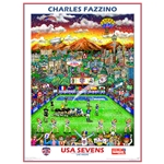 USA Sevens Official 2014 Poster