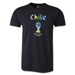 Chile 2014 FIFA World Cup Brazil(TM) Limited Edition Britto T-Shirt (Black)