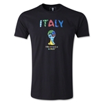 Italy 2014 FIFA World Cup Brazil(TM) Limited Edition Britto T-Shirt (Black)