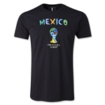 Mexico 2014 FIFA World Cup Brazil(TM) Limited Edition Britto T-Shirt (Black)