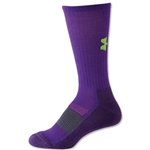 Under Armour Women's Allsport Crew Sock (Purple)