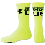 Under Armour Women's Speed Don't Lie Crew Sock (Neon Yellow)