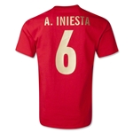Andres Iniesta Player T-Shirt