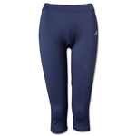 adidas Women's TechFit Three-Quarter Tight (Dk Grey)