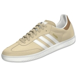 adidas Originals Samba (Stone Khaki/Core White/Gold Metallic)