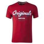 adidas Originals Junior Rock T-Shirt 3 (Red)
