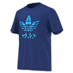 adidas Originals Trefoil Fill T-Shirt (Royal)