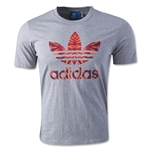 adidas Originals Trefoil Fill T-Shirt (Gray)