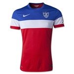 USA 2014 American Outlaws Authentic Away Soccer Jersey