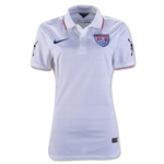 USA 14/15 American Outlaw Authentic Home Soccer Jersey