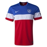 USA 2014 American Outlaws Away Soccer Jersey