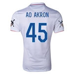 USA 14/15 American Outlaws AO AKRON Home Soccer Jersey