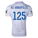 USA 14/15 American Outlaws AO ANNAPOLIS Home Soccer Jersey