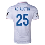 USA 14/15 American Outlaws AO AUSTIN Home Soccer Jersey
