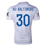 USA 14/15 American Outlaws AO BALTIMORE Home Soccer Jersey