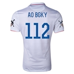 USA 14/15 American Outlaws AO BGKY Home Soccer Jersey