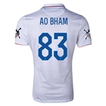USA 14/15 American Outlaws AO BHAM Home Soccer Jersey