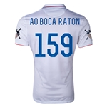 USA 14/15 American Outlaws AO BOCA RATON Home Soccer Jersey