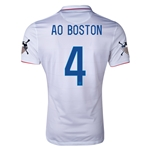 USA 14/15 American Outlaws AO BOSTON Home Soccer Jersey