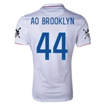 USA 14/15 American Outlaws AO BROOKLYN Home Soccer Jersey