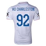 USA 14/15 American Outlaws AO CHARLESTON Home Soccer Jersey