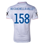 USA 14/15 American Outlaws AO COACHELLA VALLEY Home Soccer Jersey