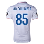 USA 14/15 American Outlaws AO COLUMBIA Home Soccer Jersey