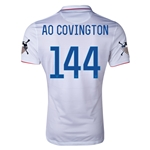 USA 14/15 American Outlaws AO COVINGTON Home Soccer Jersey