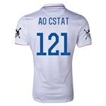 USA 14/15 American Outlaws AO CSTAT Home Soccer Jersey