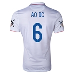 USA 14/15 American Outlaws AO DC Home Soccer Jersey