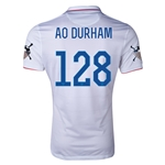 USA 14/15 American Outlaws AO DURHAM Home Soccer Jersey