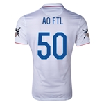 USA 14/15 American Outlaws AO FTL Home Soccer Jersey