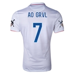 USA 14/15 American Outlaws AO GRVL Home Soccer Jersey