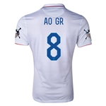 USA 14/15 American Outlaws AO GR Home Soccer Jersey