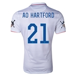 USA 14/15 American Outlaws AO HARTFORD Home Soccer Jersey