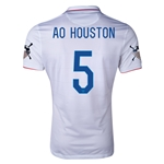 USA 14/15 American Outlaws AO HOUSTON Home Soccer Jersey