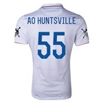 USA 14/15 American Outlaws AO HUNTSVILLE Home Soccer Jersey