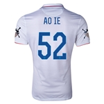 USA 14/15 American Outlaws AO IE Home Soccer Jersey