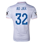 USA 14/15 American Outlaws AO JAX Home Soccer Jersey