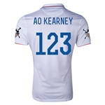 USA 14/15 American Outlaws AO KEARNEY Home Soccer Jersey