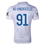 USA 14/15 American Outlaws AO KNOXVILLE Home Soccer Jersey