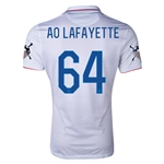 USA 14/15 American Outlaws AO LAFAYETTE Home Soccer Jersey