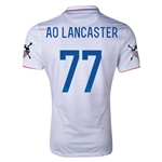 USA 14/15 American Outlaws AO LANCASTER Home Soccer Jersey