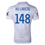 USA 14/15 American Outlaws AO LAREDO Home Soccer Jersey